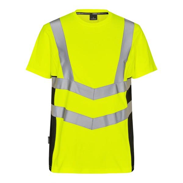 Herren Sicherheitsshirt kurzarm FE Engel Safety 9544-182 Gelb/Schwarz 3820