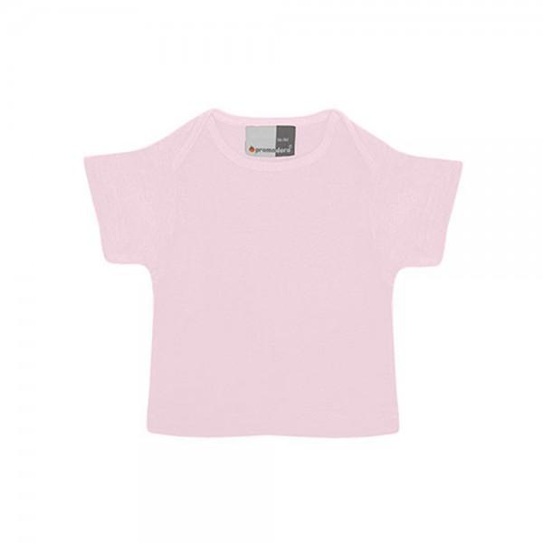 Kinder T-Shirt kurzarm Promodoro Baby-T 110 Chalk Pink