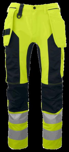 Herren Sicherheitshose Projob 6513 ARBEITSHOSE EN ISO 20471 KLASSE 2 646513 yellow/black 11_1