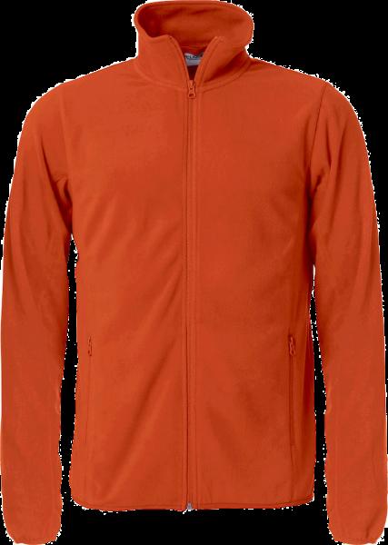Herren Fleecejacke Clique Basic Micro Fleece Jacket 023914 Blutorange 18_1