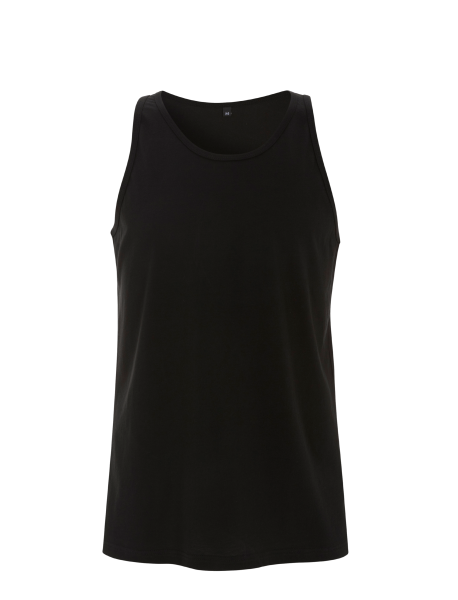 Herren Tanktop Shirt Continental Clothing VEST N23 Black_1
