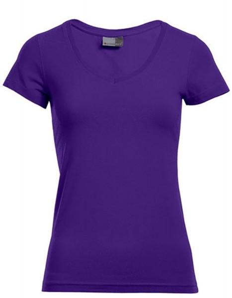 Damen T-Shirt kurzarm Promodoro Slim Fit V-Neck-T 3086 Pansy