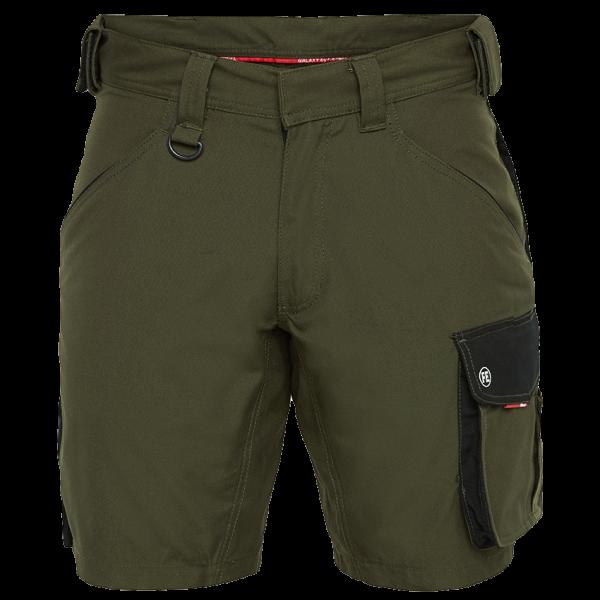 Herren Arbeitshosen FE Engel Galaxy Shorts 6810-254 Forest Green/Schwarz 5320_1