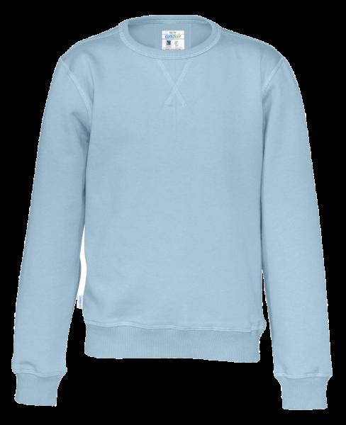 Kinder Pullover Cottover Crewneck 141015 Sky blue 725