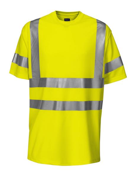 Sicherheits T-Shirt kurzarm ProJob 6010 EN ISO 20471 Klasse 3 646010 Gelb 10