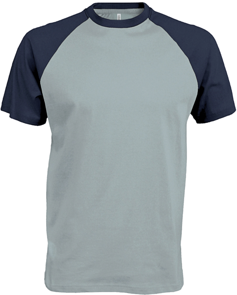 Herren T-Shirt kurzarm Kariban K330 Ice Blue / Denim_1