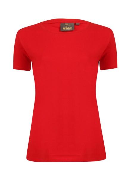 Damen T-Shirt kurzarm Switcher Lady Gaia 2220 ROUGE 10