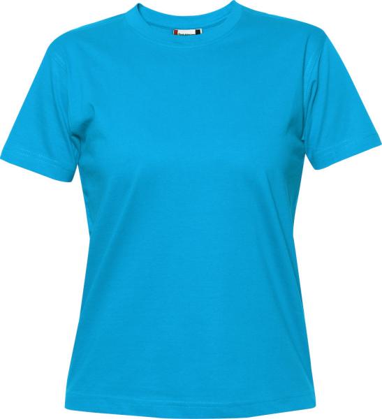 T-Shirt Kurzarm Clique Premium-T 029341 Tuerkis 54
