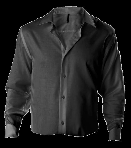 Herren Hemd langarm Kariban K522 Zinc_1