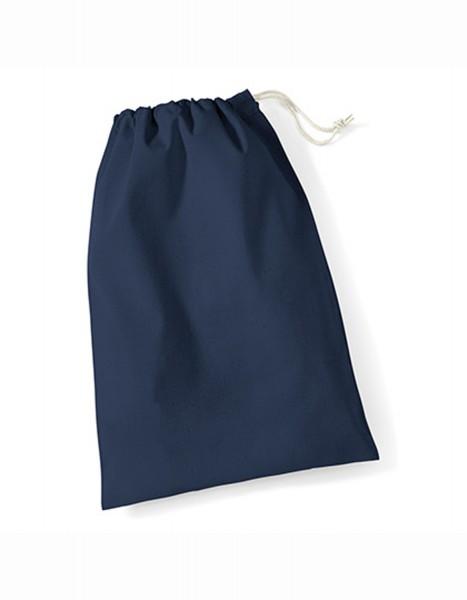 Stoffbeutel Westford Mill Cotton Stuff Bag (XXS) WM115 Navy