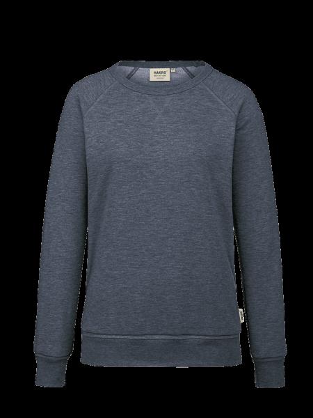 Damen Raglan-Sweatshirt Hakro 407 tinte meliert 330_1