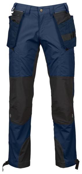 Arbeitshose ProJob 3520 mit Stretcheinsaetzen modern geschnitten 643520 Marine/Schwarz 58
