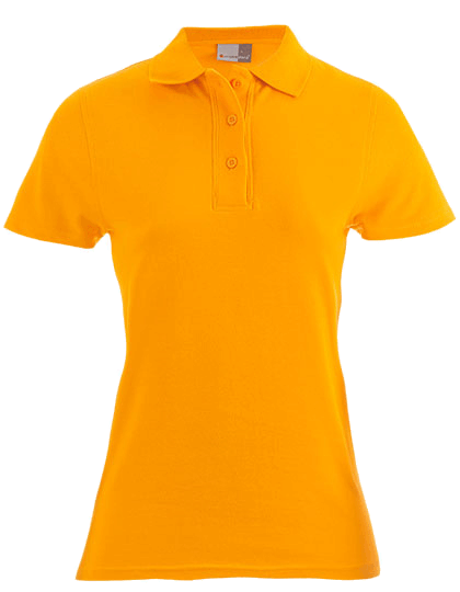 Damen Poloshirt kurzarm Promodoro Superior 4005F Orange_1