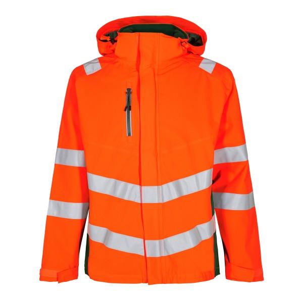 Herren Sicherheits-Shelljacke FE Engel Safety 1146-930 Orange/Gruen 101