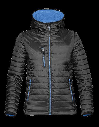 Damen Steppjacke Stormtech Gravity Thermal Jacket AFP-1W Black Marine-Blue_1
