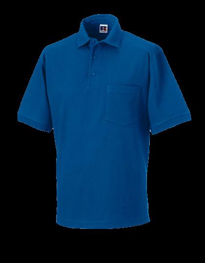 Herren Poloshirt kurzarm Russell Poloshirt R-011M-0 Bright Royal_1