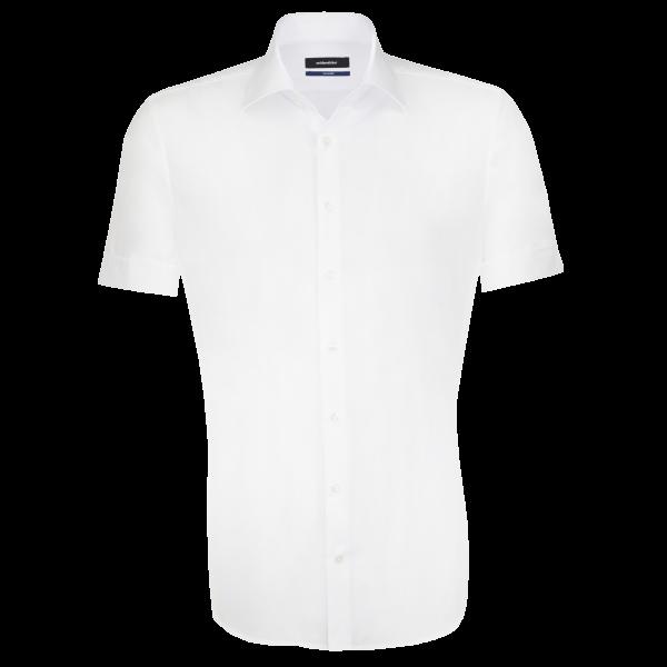 Herren Hemd kurzarm Seidensticker Tailored 21001 weiss 01_1