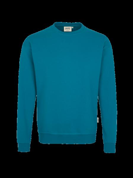 Herren Sweatshirt Hakro Premium 471 petrol 046_1