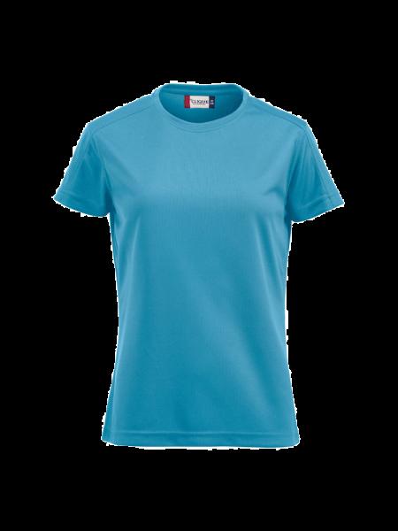Damen T-Shirt kurzarm Clique Ice-T Ladies 029335 Tuerkis 54_1