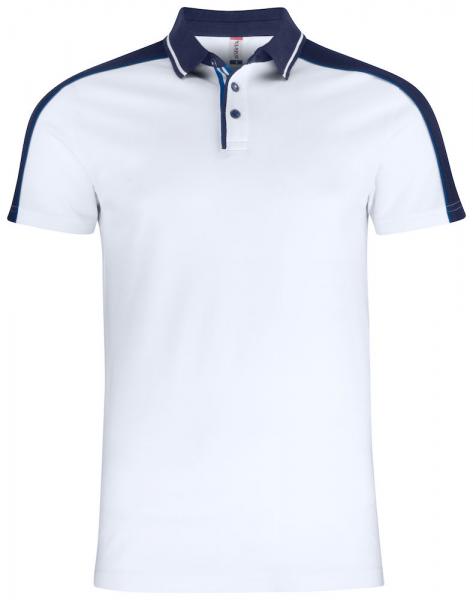 Poloshirt kurzarm Clique Pittsford 028270 Weiss 00