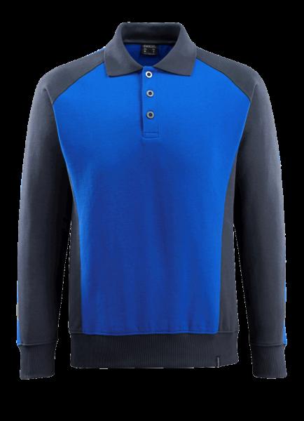 Herren Polo-Sweatshirt Mascot Magdeburg 50610-962 kornblau/schwarzblau 11010_1