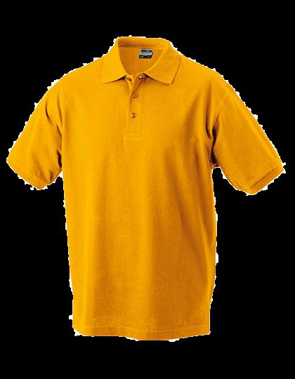 Kinder Poloshirt kurzarm James&Nicholson Classic JN 070k Gold Yellow_1
