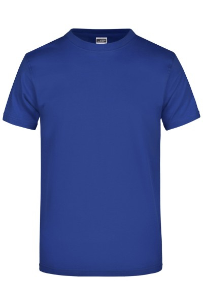 T-Shirt kurzarm James&Nicholson Round-T Heavy (180g/m²) JN002 dark-royal
