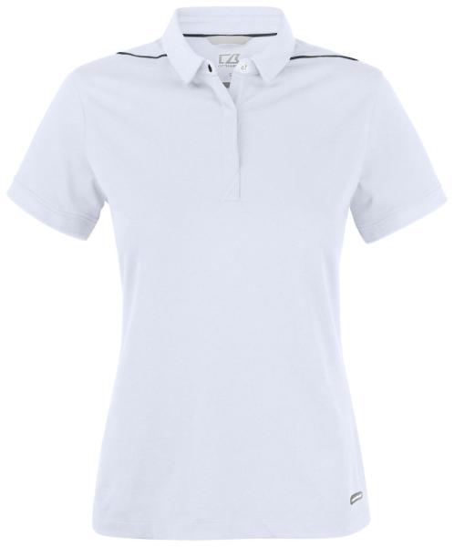 Damen Poloshirt kurzarm Cutter&Buck 354423 White 00