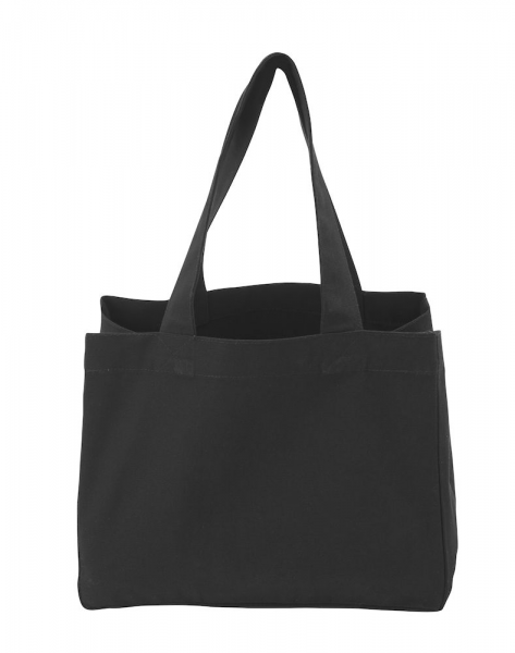 Tragtasche Cottover Tote Bag Heavy Small 141030 Schwarz 990