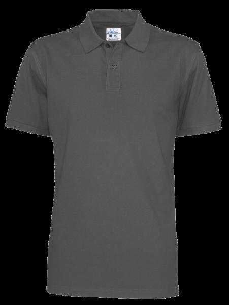 Herren Poloshirt kurzarm Cottover Pique SS 141006 Charcoal 980