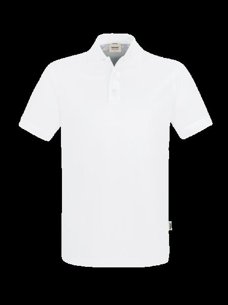 Herren Poloshirt kurzarm Hakro Pima-Cotton 801 weiss 001_1