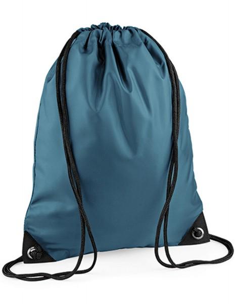 Rucksack BagBase Premium Gymsac BG10 Airforce Blue