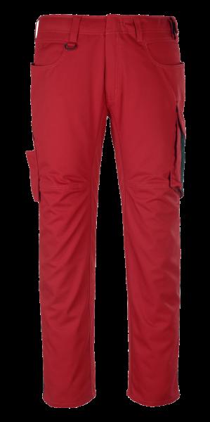 Herren Arbeitshose Mascot Oldenburg 12579-442 rot/schwarz 0209_1