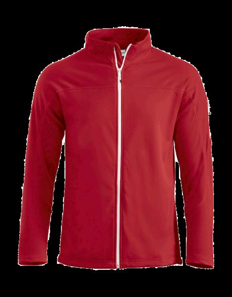 Unisex Sweatjacke Clique Ducan 021055 Rot 35_1