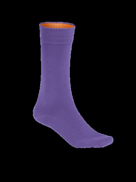 Unisex Socke Hakro Premium 933 lavendel 119_1