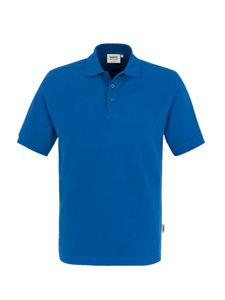 Herren Poloshirt kurzarm Hakro Classic 810 royalblau 010_1