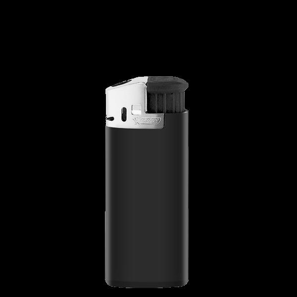 Feuerzeug BiC 2479 J39 Lighter Chrome Hood schwarz 1-/0-farbig bedruckt_1