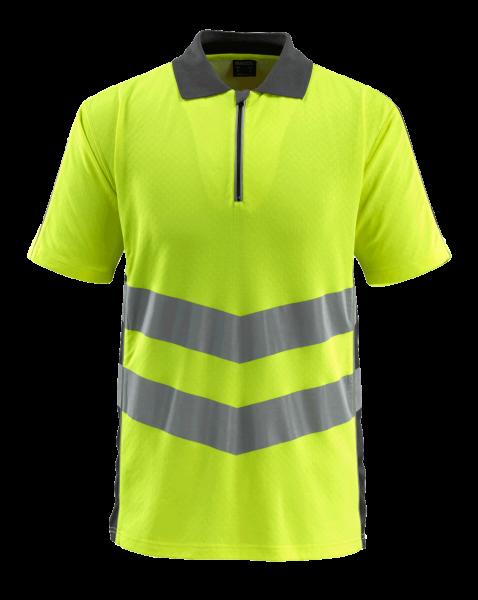 Herren Poloshirt Mascot Murton 50130-933 hi-visgelb/dunkelanthrazit 1718_1