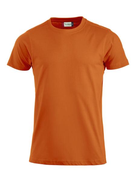 T-Shirt Kurzarm Clique Premium-T 029340 Blutorange 18