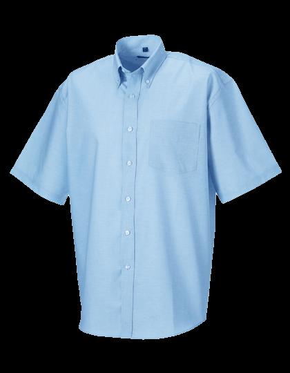 Herren Hemd kurzarm Russell Oxford R-933M-0 Oxford Blue_1
