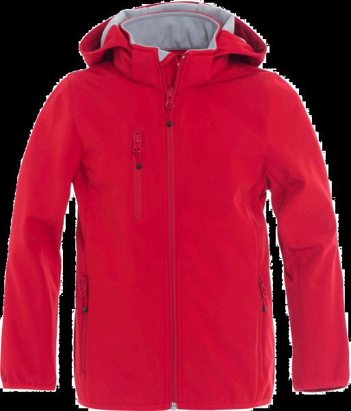 Kinder Jacke Clique Basic Softshell Jacket 020909 Rot 35_1