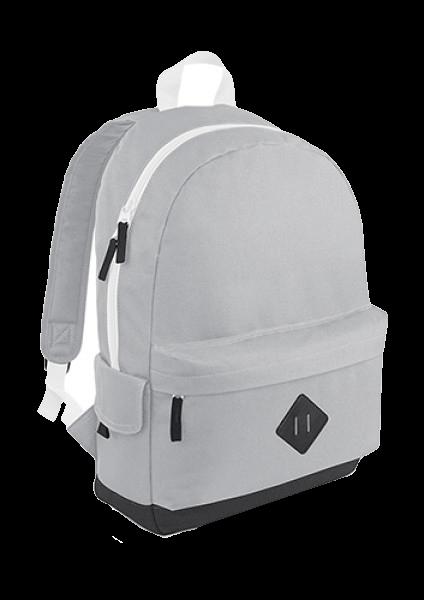 Rucksack BagBase Heritage Backpack BG825 Light Grey
