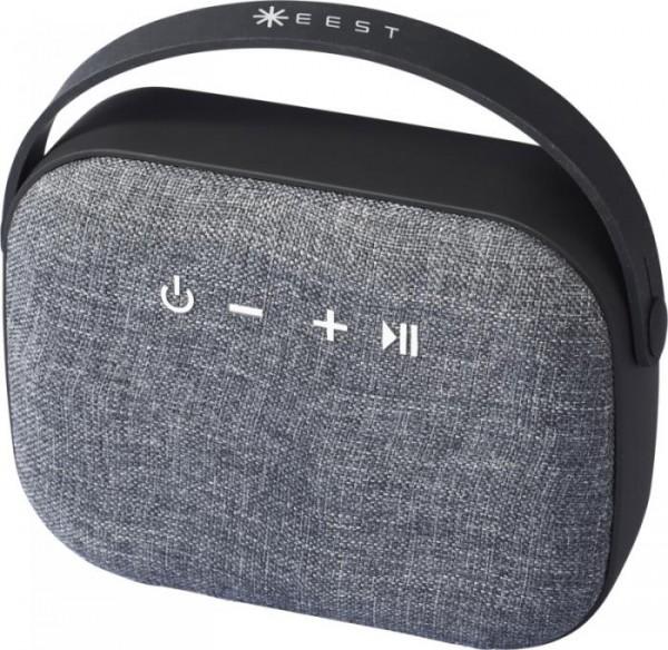 Lautsprecher Bluetooth® Woven Fabric 108312 schwarz 00
