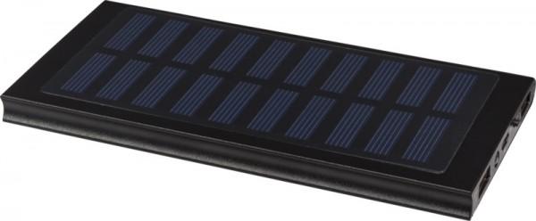 Solar Powerbank 8000 mAh Stellar 123688 schwarz 00