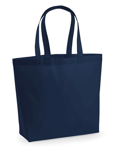Tragtasche Westford Mill Premium Cotton Maxi Bag WM225 French Navy