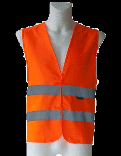 Unisex Sicherheitsweste Korntex Professional 80/20 Mischgewebe KXBM Signal Orange_1
