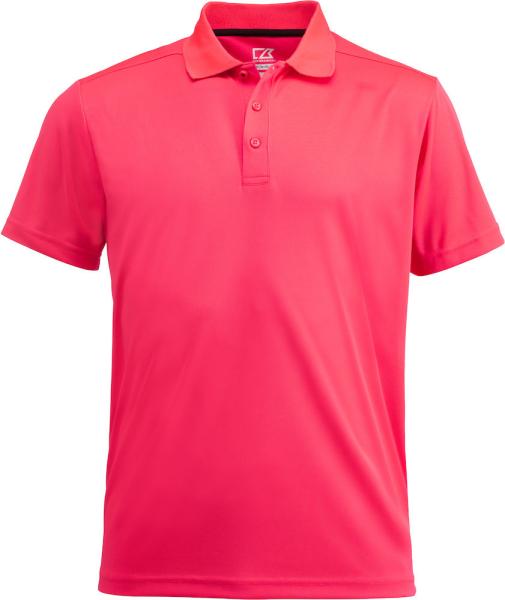 Herren Poloshirt kurzarm Cutter&Buck 354400 Neon Cerise 260