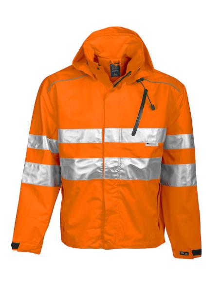Sicherheitsjacke ProJob 6466 wind- und wasserdichte Allround Jacke EN ISO 20471 Klasse 3 EN 343/3 646466 Orange 17