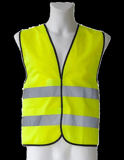 Unisex Sicherheitsweste Korntex EN ISO 20471 KXVW Signal Yellow_1