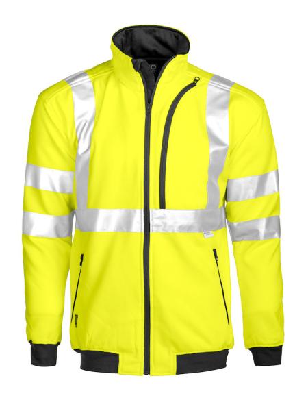 Sicherheits Sweatjacke ProJob 6103 EN ISO 20471 Klasse 1 646103 Gelb 10